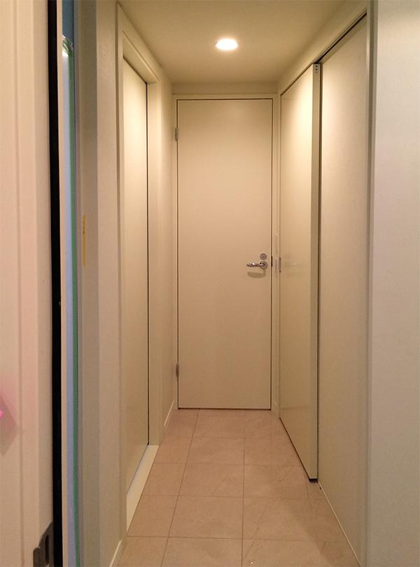 建具ドア洗面